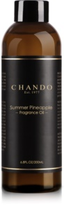 Chando Fragrance Oil Summer Pineapple ricarica per diffusori di aromi 200 ml