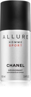 Chanel Allure Homme Sport deodorant Spray para homens 100 ml