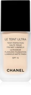 Chanel Le Teint Ultra Långvarig mattifierande foundation SPF 15