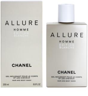 Chanel Allure Homme Édition Blanche gel za tuširanje za muškarce 200 ml