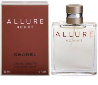 Chanel Allure Homme Eau de Toilette para homens 50 ml