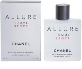 Chanel Allure Homme Sport Aftershave lotion  voor Mannen 100 ml