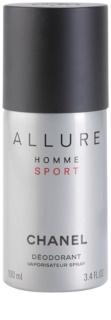 Chanel Allure Homme Sport дезодорант-спрей для чоловіків 100 мл