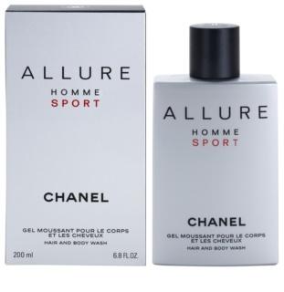 Chanel Allure Homme Sport гель для душу для чоловіків 200 мл