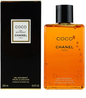 Chanel Coco gel de dus pentru femei 200 ml