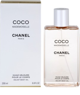 Chanel Coco Mademoiselle óleo corporal para mulheres 200 ml