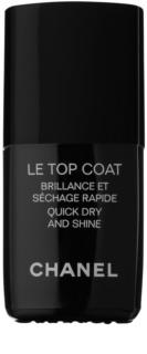 Chanel Le Top Coat τοπ προστατευτικό βερνίκι νυχιών με λάμψη