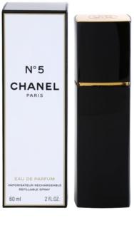 Chanel N°5 eau de parfum pour femme 60 ml rechargeable