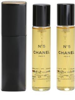 Chanel N°5 woda toaletowa dla kobiet 20 ml (1x napełnialny + 2x napełnienie)