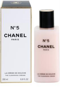 Chanel N° 5 krema za prhanje za ženske 200 ml