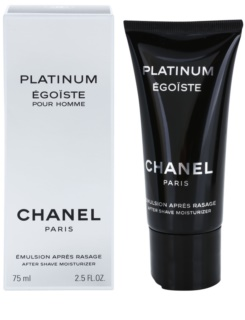 Chanel Égoïste Platinum Aftershave emulsie  voor Mannen 75 ml