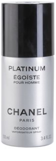 Chanel Égoïste Platinum deodorant spray para homens 100 ml