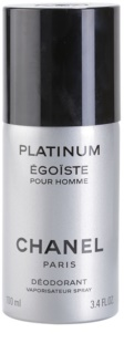 Chanel Égoïste Platinum deodorant spray para homens