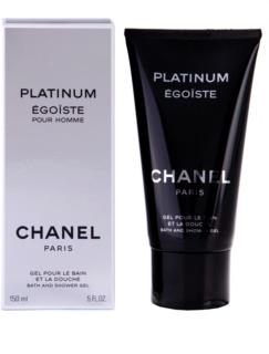 Chanel Égoïste Platinum gel de dus pentru barbati 150 ml