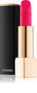 Chanel Rouge Allure Velvet seidiger Lippenstift mit Matt-Effekt
