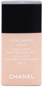 Chanel Vitalumiére Aqua ultra könnyű make-up a ragyogó bőrért
