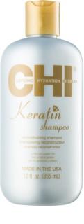 CHI Keratin Shampoo met Keratine voor Droog en Onhandelbaar Haar