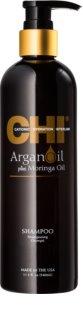 CHI Argan Oil shampoing nourrissant pour chevex secs et abîmés