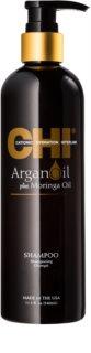 CHI Argan Oil sampon hranitor pentru par uscat si deteriorat