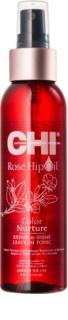 CHI Rose Hip Oil huile pour cheveux colorés et abîmés