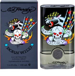 Christian Audigier Ed Hardy Born Wild Eau de Toilette for Men 100 ml