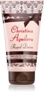 Christina Aguilera Royal Desire hydratačné telové mlieko pre ženy 150 ml