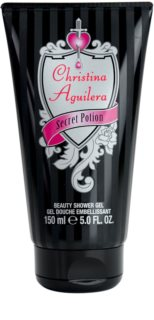 Christina Aguilera Secret Potion gel doccia da donna 150 ml