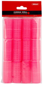 Chromwell Accessories Pink bigoudis velcro