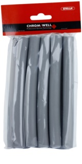 Chromwell Accessories Grey Bendy Rollers - Medium
