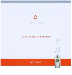 Clarena Acid Line Ferulac 7days Anti-Wrinkle Therapy In Ampoules