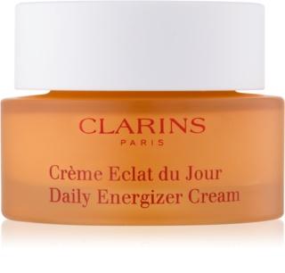 Clarins Daily Energizer krem rozjaśniający na dzień o działaniu nawilżającym do cery normalnej i suchej