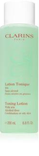 Clarins Cleansers тонизираща вода за лице  за смесена и мазна кожа