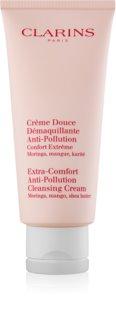 Clarins Cleansers crema limpiadora con efecto humectante