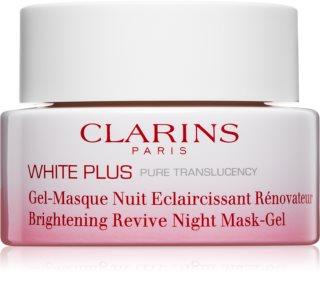 Clarins White Plus Uppljusande nattmask