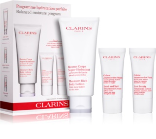 Clarins Balanced Moisture Program козметичен пакет  I.