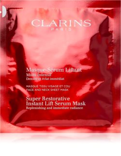 Clarins Super Restorative koncentrirana pomlajevalna maska za obraz