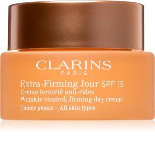Clarins Extra-Firming κρέμα ημέρας για αποκατάσταση της σφριγηλότητας της επιδερμίδας
