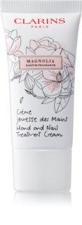Clarins Specific Care Magnolia crema suavizante para manos y uñas