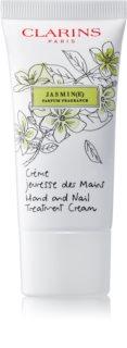 Clarins Specific Care Jasmine crema hidratante para manos y uñas