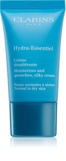 Clarins Hydra-Essentiel зволожуючий крем для нормальної та сухої шкіри