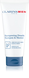 Clarins Men Wash Shampoo & Shower Hair & Body