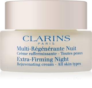 Clarins Extra-Firming нощен крем против бръчки  за всички типове кожа на лицето