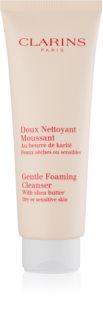 Clarins Cleansers делікатна очищуюча пінка для чутливої сухої шкіри
