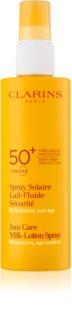Clarins Sun Protection losjon za sončenje v pršilu SPF50+