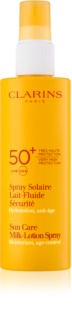 Clarins Sun Protection latte abbronzante in spray SPF 50+