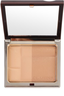 Clarins Face Make-Up Bronzing Duo pó bronzeador matificante
