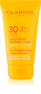 Clarins Sun Protection Sun Wrinkle Control Cream For Face SPF 30