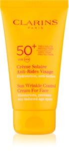 Clarins Sun Protection Crema anti-imbatranire pentru protectie solara SPF 50+