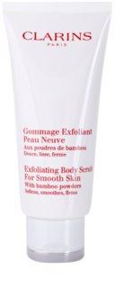 Clarins Body Exfoliating Care зволожуючий пілінг для тіла для ніжної і гладенької шкіри