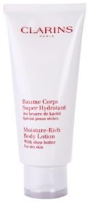 Clarins Body Hydrating Care lait corporel hydratant pour peaux sèches